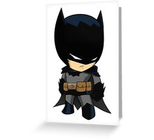 Chibi Batman Greeting Card