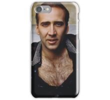 Nicolas Cage - The Shag Carpet iPhone Case/Skin