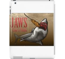 JAWS Take A Dunk  iPad Case/Skin