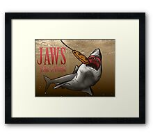 JAWS Take A Dunk  Framed Print