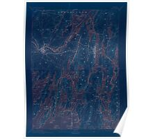 Maine USGS Historical Map Bath 306457 1894 62500 Inversion Poster