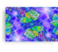 Fractal Floral Canvas Print
