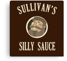 Sullivan's Silly Sauce- Dark Canvas Print