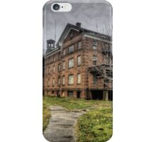Abandoned Building at the Connecticut Valley Hospital iPhone Case/Skin