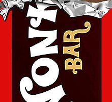 Wonka Bar Chocolate Gold Ticket Candy Sweets by GoodCase