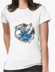 Interpretation #79 - Passion's roller coaster... Womens Fitted T-Shirt