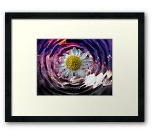 Liquid Flower V Framed Print