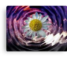 Liquid Flower V Canvas Print