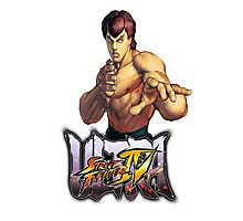 ultra street fighter fei long Photographic Print
