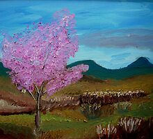 Red Bud by Lesli Hills