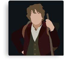 Bilbo Baggins Canvas Print