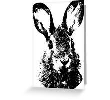 Rabbit Portrait Greeting Card