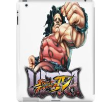 ultra street fighter hugo iPad Case/Skin