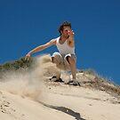 Sandsurfing by Ngarnamurrah