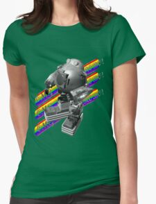 OMG ROBO Womens Fitted T-Shirt