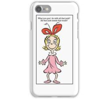 Retro Cindy Lou Who Fergie iPhone Case/Skin