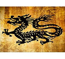 Vintage Dragon Photographic Print
