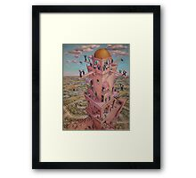 Tower of Babbit Framed Print