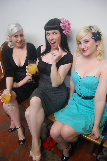 Cherry Darling, Helen Mclean and Bad Lady Blonde by TimChuma