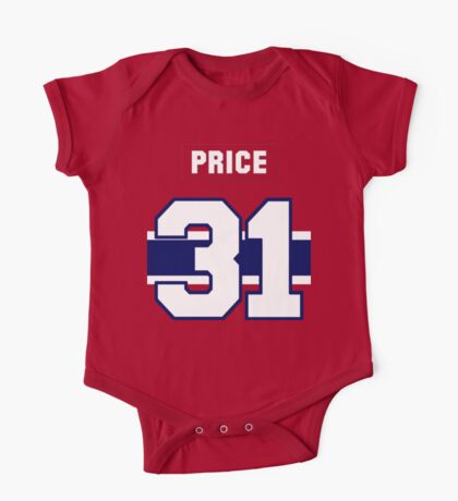 Carey Price #31 - red jersey One Piece - Short Sleeve