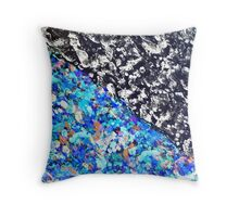 Colorful Abstract Painting Original Art Titled: No. 9 Throw Pillow