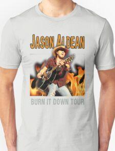 JASON ALDEAN BURN DOWN T-Shirt