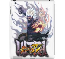ultra street fighter oni iPad Case/Skin