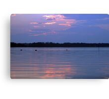 Nets at sunset Canvas Print
