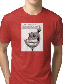 Cheshire Cat Tri-blend T-Shirt