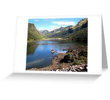 Laguna Papallacta, Ecuador Greeting Card