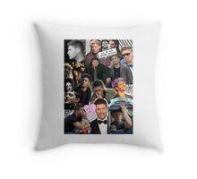 Jensen Ackles - Supernatural, Dean Winchester Collage Throw Pillow