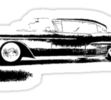 1958 Cadillac Sedan Sticker