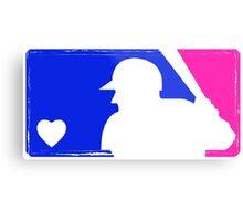 MLB Baseball Tee (Vintage) Metal Print