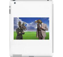 The Arguement At Work iPad Case/Skin