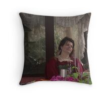 Wonder and pondering Throw Pillow