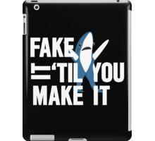 Left Shark: Fake It 'Til You Make It iPad Case/Skin