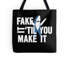 Left Shark: Fake It 'Til You Make It Tote Bag