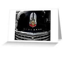 Cadillac Car Greeting Card
