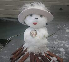 Miss Snow Lady  by MsLiz
