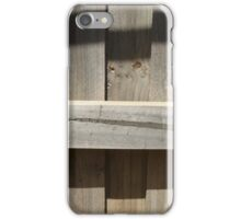 Fence Shadows iPhone Case/Skin