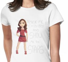 Oswin - Show Me the Stars Womens Fitted T-Shirt