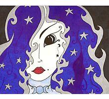 Selene, Goddess of the Moon Photographic Print