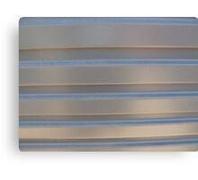 Gray Stripes Canvas Print