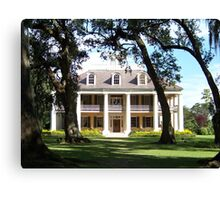 The Crown Jewel of River Road- Houmas House Plantation Canvas Print