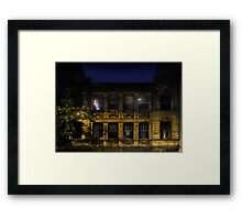 Night and the City Framed Print