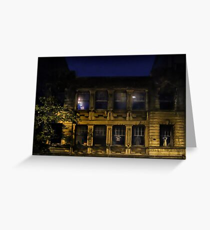 Night and the City Greeting Card