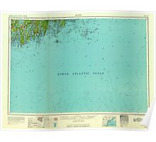 Maine USGS Historical Map Bath 806491 1963 250000 Poster