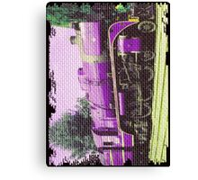 R767 Loco- Up The wall version Canvas Print