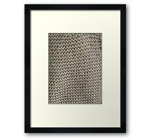 Knit One Framed Print