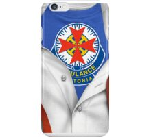 Ambulance Victoria Paramedic Shirt iPhone Case/Skin
